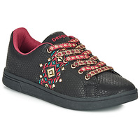 Cipők Női Rövid szárú edzőcipők Desigual COSMIC NAVAJO Fekete
