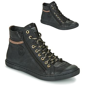Cipők Női Magas szárú edzőcipők Pataugas BONO Fekete