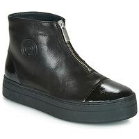 Cipők Női Csizmák Pataugas VALENTINA Fekete