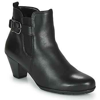 Cipők Női Bokacsizmák Gabor 3564127 Fekete