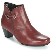 Cipők Női Bokacsizmák Gabor 3282758 Piros