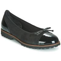 Cipők Női Balerina cipők / babák Gabor 3410037 Fekete