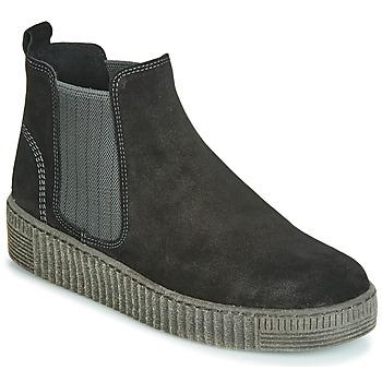 Cipők Női Csizmák Gabor 3373117 Fekete