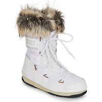 Cipők Női Hótaposók Moon Boot MOON BOOT MONACO LOW WP 2 Fehér