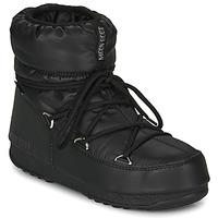 Cipők Női Hótaposók Moon Boot MOON BOOT LOW NYLON WP 2 Fekete