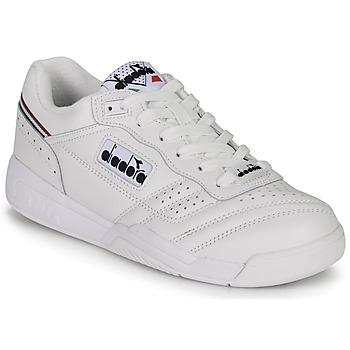 Cipők Rövid szárú edzőcipők Diadora ACTION Fehér