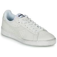 Cipők Rövid szárú edzőcipők Diadora GAME L LOW WAXED Fehér