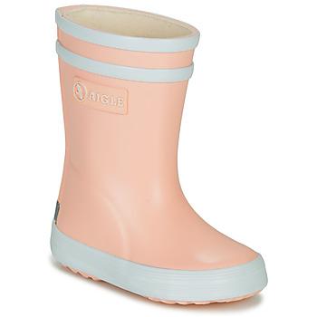 Cipők Lány Gumicsizmák Aigle BABY FLAC Rózsaszín