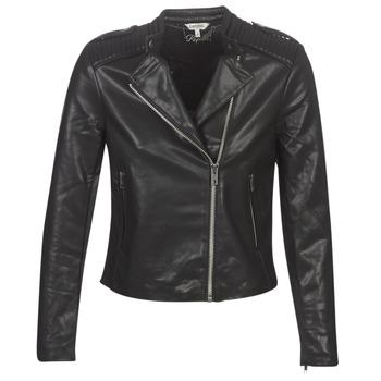 Ruhák Női Bőrkabátok / műbőr kabátok Kaporal XUT Fekete