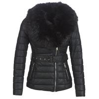 Ruhák Női Steppelt kabátok Moony Mood LOUVE Fekete