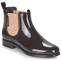 Cipők Női Gumicsizmák Be Only NASHVILLE Fekete  / Arany
