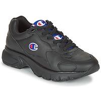 Cipők Női Rövid szárú edzőcipők Champion CWA-1 LEATHER Fekete
