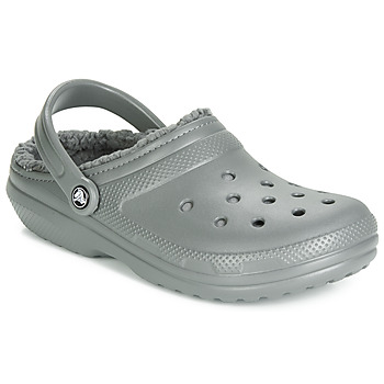 Cipők Klumpák Crocs CLASSIC LINED CLOG Szürke