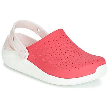 Cipők Lány Klumpák Crocs LITERIDE CLOG K Piros / Fehér
