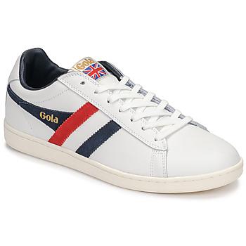 Cipők Férfi Rövid szárú edzőcipők Gola EQUIPE Fehér / Kék / Piros