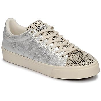 Cipők Női Rövid szárú edzőcipők Gola ORCHID II CHEETAH Fehér / Ezüst