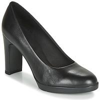 Cipők Női Félcipők Geox D ANNYA HIGH Fekete