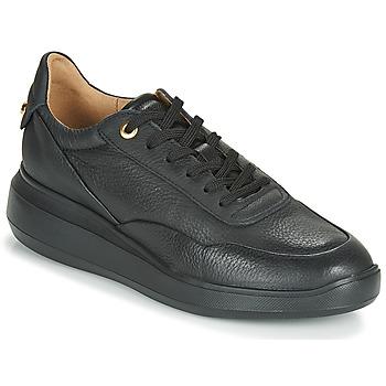 Cipők Női Rövid szárú edzőcipők Geox D RUBIDIA Fekete