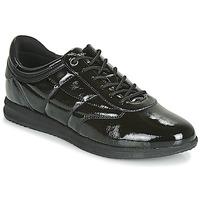 Cipők Női Rövid szárú edzőcipők Geox D AVERY Fekete