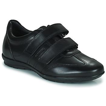 Cipők Férfi Rövid szárú edzőcipők Geox UOMO SYMBOL Fekete