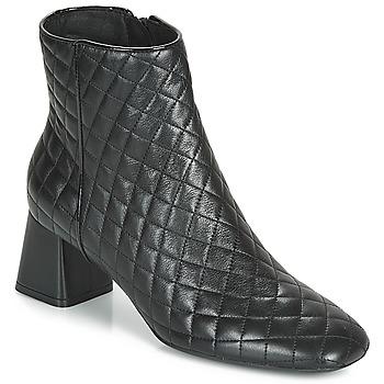 Cipők Női Bokacsizmák Geox D SEYLA Fekete