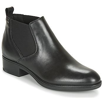 Cipők Női Csizmák Geox D FELICITY NP ABX C Fekete