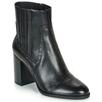 Cipők Női Bokacsizmák Geox D JACY HIGH Fekete
