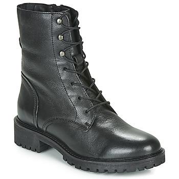 Cipők Női Bokacsizmák Geox D HOARA Fekete