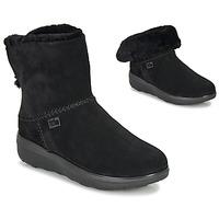 Cipők Női Csizmák FitFlop MUKLUK SHORTY III Fekete