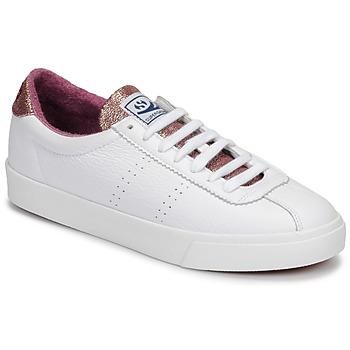 Cipők Női Rövid szárú edzőcipők Superga 2843 COMFLEALAMEW Fehér