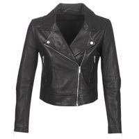 Ruhák Női Bőrkabátok / műbőr kabátok Ikks BM48145-02 Fekete