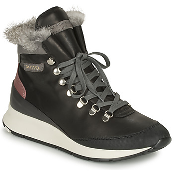 Cipők Női Magas szárú edzőcipők Philippe Model MONTECARLO Fekete