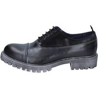 Cipők Férfi Oxford cipők & Bokacipők Ossiani BS724 Fekete