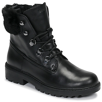 Cipők Lány Csizmák Geox J CASEY GIRL WPF Fekete