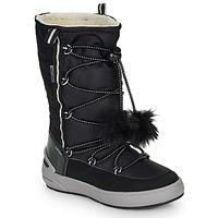 Cipők Lány Városi csizmák Geox J SLEIGH GIRL B ABX Fekete