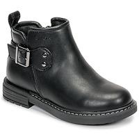 Cipők Lány Csizmák Geox J ECLAIR GIRL Fekete