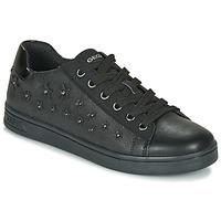 Cipők Lány Rövid szárú edzőcipők Geox J DJROCK GIRL Fekete
