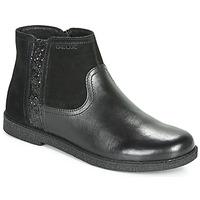 Cipők Lány Csizmák Geox J SHAWNTEL Fekete