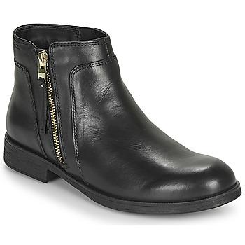 Cipők Lány Csizmák Geox JR AGATA Fekete