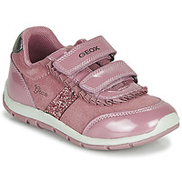 Cipők Lány Rövid szárú edzőcipők Geox B SHAAX Rózsaszín
