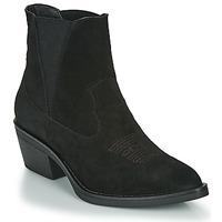 Cipők Női Bokacsizmák Les Petites Bombes IRINA Fekete