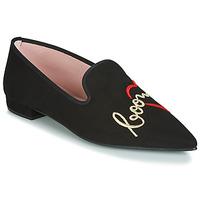 Cipők Női Balerina cipők  Pretty Ballerinas  Fekete
