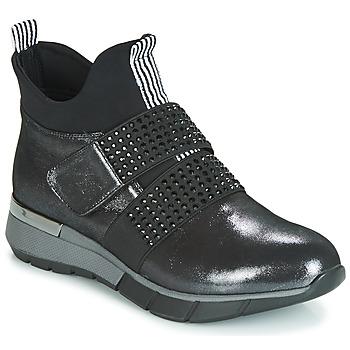 Cipők Női Magas szárú edzőcipők Metamorf'Ose FAGNO Fekete