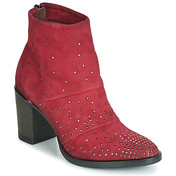 Cipők Női Bokacsizmák Metamorf'Ose FALCAO Piros