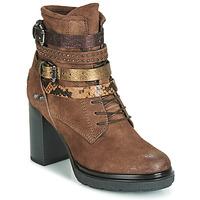 Cipők Női Bokacsizmák Metamorf'Ose FALENCIA Teve