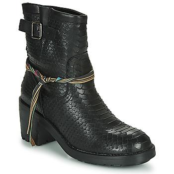 Cipők Női Bokacsizmák Felmini NAHA Fekete