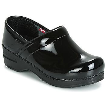 Cipők Női Klumpák Sanita PROF Fekete