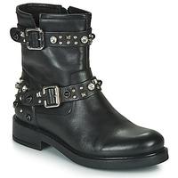 Cipők Női Csizmák Café Noir CHARLIE Fekete