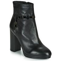 Cipők Női Bokacsizmák Café Noir GLORIA Fekete