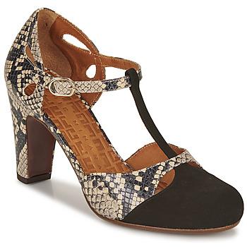 Cipők Női Félcipők Chie Mihara KUNA Fekete  / Bézs